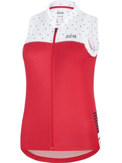 GORE WEAR C5 Sleeveless Jersey Women hibiscus pink/white
